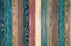 Colorful Wood Background planks. seamless dark blue texture floor Stock Photography