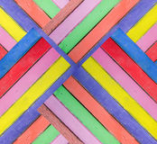 Colorful of wood Stock Photo