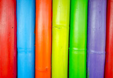 Colorful of wood Royalty Free Stock Image