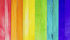 Colorful wood ice-cream sticks Stock Photography