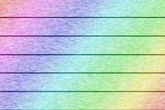 Colorful wood plank texture for background.  Royalty Free Stock Image