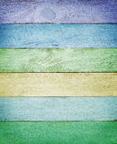 Colorful wood planks texture Royalty Free Stock Photo