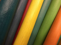 Colorful wood sticks Stock Photography