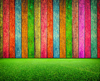 Colorful wood texture background Stock Photography