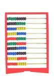 Abacus isolated on white background Stock Image