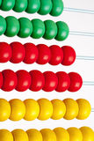 Colorful Wooden Abacus Stock Photo