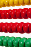 Colorful Wooden Abacus Stock Photography