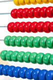 Colorful Wooden Abacus Stock Image