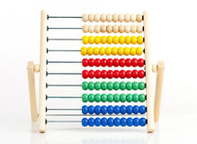 Colorful Wooden Abacus Royalty Free Stock Photos