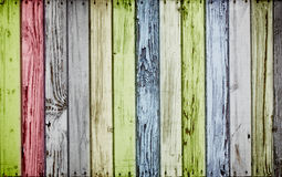 Colorful wooden background Stock Photography