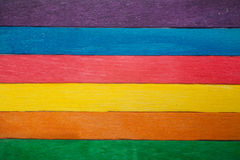 Colorful wooden background Stock Images