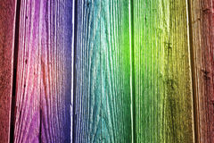 Colorful Wooden Background. Retro Wood stock image