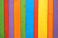 Colorful wooden background or wallpaper Stock Image