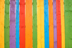 Colorful wooden background or wallpaper Stock Images