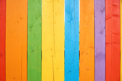 Colorful wooden background or wallpaper Royalty Free Stock Images