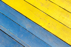 Colorful wooden background Royalty Free Stock Photography