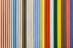 Colorful wooden blinder panel Stock Photo