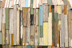 Colorful Wooden Boards Stock Images