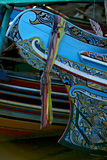 Colorful wooden boats Stock Photo