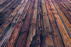 Colorful wooden brown fence table background wood Royalty Free Stock Images