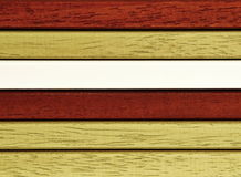 Colorful wooden moldings Royalty Free Stock Photography