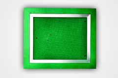 Colorful Wooden Photo Frame Stock Photo