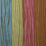 Colorful Wooden plank background Stock Images