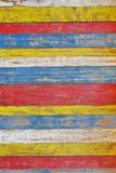 Colorful Wooden Plank Panel. Background and Texture for text or image Stock Photos