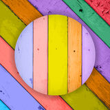 Colorful Wooden Planks Background Royalty Free Stock Photography