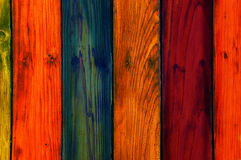 Colorful wooden texture Royalty Free Stock Image