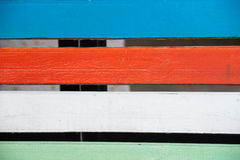 Colorful wooden texture Royalty Free Stock Photo