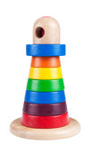 Colorful wooden toy Royalty Free Stock Photo