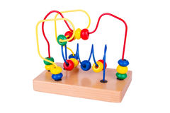 Colorful wooden toy Royalty Free Stock Images