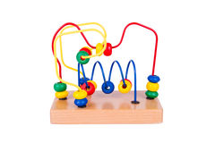 Colorful wooden toy Stock Photography