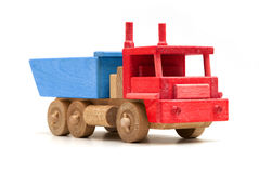 Colorful Wooden Truck Stock Photography
