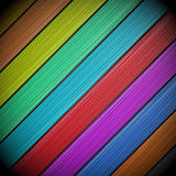 Colorful wooden vector background Royalty Free Stock Image