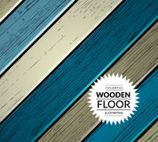 Colorful wooden vector background Royalty Free Stock Images