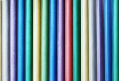 Colorful wooden wall Royalty Free Stock Photos
