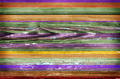 Colorful wooden wall background Royalty Free Stock Photo