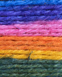 Colorful wool background Royalty Free Stock Photo