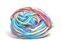 Colorful wool ball Stock Photo