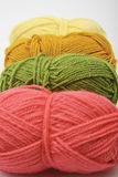Colorful wool balls Royalty Free Stock Photo