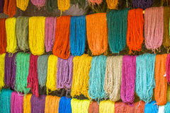 Colorful wool royalty free stock photography