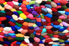 Colorful wool. Different colors of wool which I seen on roadside Royalty Free Stock Image