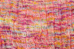 Colorful wool fabric Royalty Free Stock Image