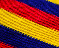 Colorful wool macro shot Royalty Free Stock Image