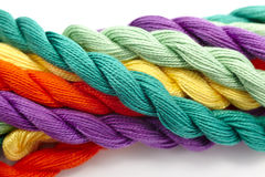 Colorful wool Royalty Free Stock Images