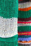 Colorful wool textured Royalty Free Stock Image
