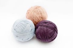 Colorful wool yarn Stock Photo