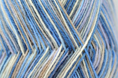 Colorful wool yarn background Royalty Free Stock Images